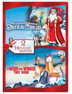 The Life and Adventures of Santa Claus /  Opus N' Bill: A Wish for Wings That Work