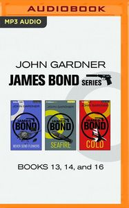 JAMES BOND SERIES BOOKS 13, 14 & 16