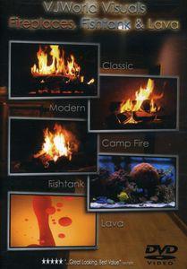 Vjworld Visuals: Fireplaces Fishtank & Lava