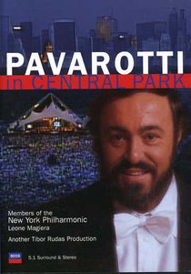 Pavarotti in Central Park