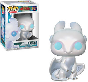 FUNKO POP! MOVIES: How to Train your Dragon - Light Fury