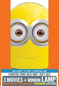Despicable Me 3 Movie Collection With Minion Lamp