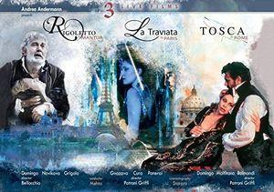 Verdi: La traviata /  Rigoletto /  Tosca
