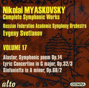 Alastor Sym Poem /  Lyric Concertino /  Sinfonietta