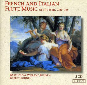 French & Italian Flute Music of the 18th Century