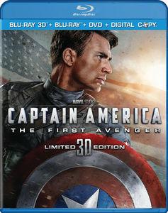 Captain America: The First Avenger 3D/ 2D