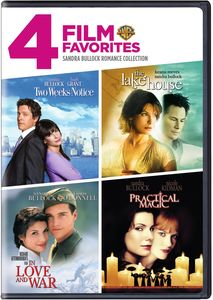 4 Film Favorites: Sandra Bullock Romance Collection