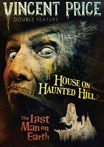 Vincent Price Double Feature: House On Haunted Hill & The Last Man on Earth