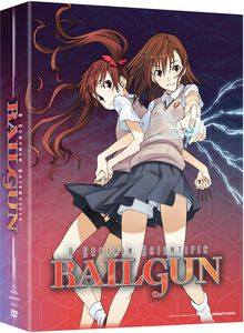 A Certain Scientific Railgun Season 1 Pt 1