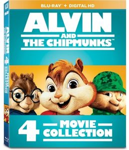 Alvin and the Chipmunks: 4-Movie Collection