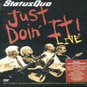 Just Doin It-Live [Import]