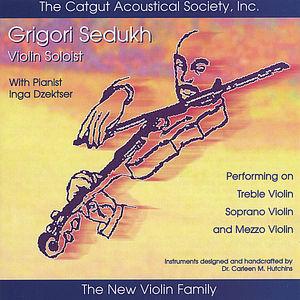 Grigori Sedukh Violin Soloist