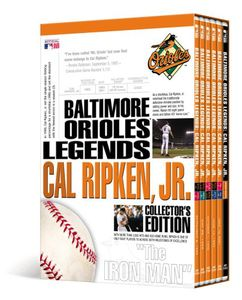 MLB: Baltimore Orioles Legends - Cal Ripken Jr.