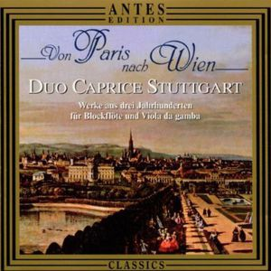 Paris to Vienna /  Works from 3 C for Recorder