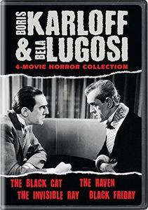 Boris Karloff & Bela Lugosi: 4-Movie Horror Collection