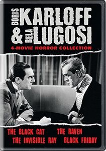 Boris Karloff & Bela Lugosi: 4-Movie Horror Collection