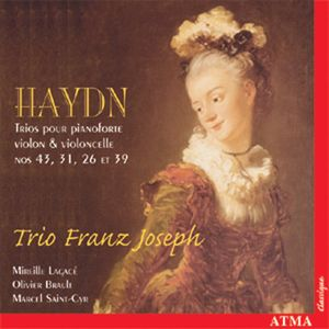 Piano Trios 43 31 26 & 39
