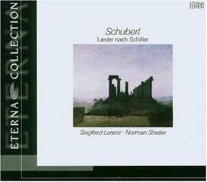 Lieder to Texts By Schiller