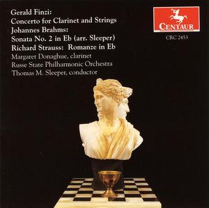 Concerto for Clarinet & Strings /  Sonata 2 in E FL
