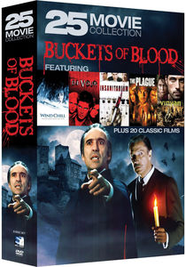 Buckets of Blood: 25 Movie Collection