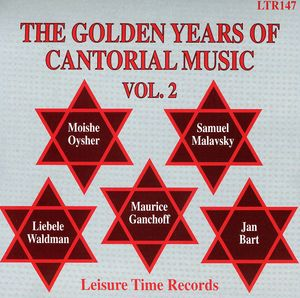 Golden Years of Cantorial Music 2 /  Various