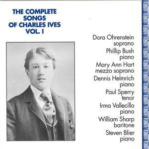 Complete Songs of Charles Ives 1