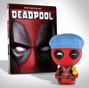 Deadpool Exclusive Dvd Bundle