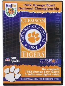 1982 Orange Bowl Championship Clemson Tigers