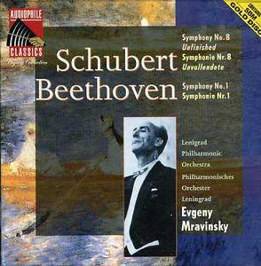 Schubert: Sym No 8 /  Beethoven: Sym No 1
