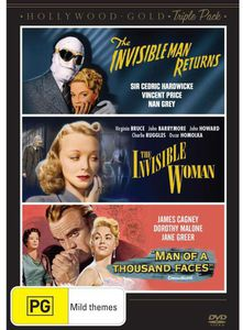 Invisible Man Returns/ The Invisible Woman/ Man of a [Import]