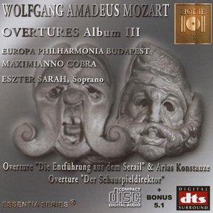 Mozart-Opera Overtures Album 3