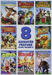 8 Animated Feature Films: Volume 2