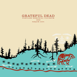 Portland Memorial Coliseum Portland Or 5/ 19/ 74 , The Grateful Dead