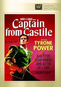 Captain From Castile , Tyrone Power