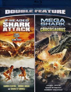 2-Headed Shark Attack /  Mega Shark Versus Crocosaurus