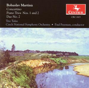 Concertino for Piano Trio & String Orchestra