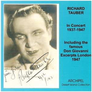 Tauber Richard-In Concert 1