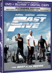 Fast Five [Widescreen] [Slipsleeve] [Rated/ Not Rated Versions]
