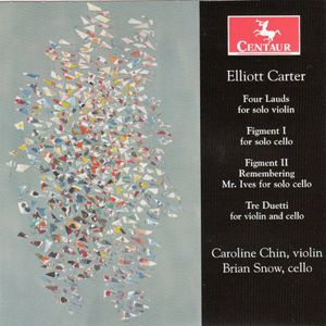 Elliott Carter (1909-2012)