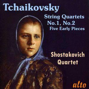 String Quartets Nos 1 & 2 /  Five Early Pieces
