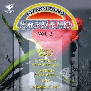 Festival Di San Remo: Gli Anni D'oro 3 /  Various [Import]