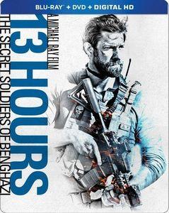 13 Hours: The Secret Soldiers of Benghazi (Steelbook)