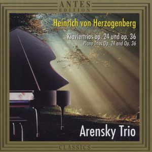Piano Trio 1 Op 24 /  Piano Trio 2 Op 36