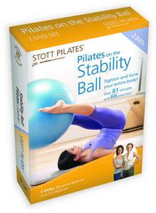 Stott Pilates: Pilates on the Stability Ball 2 DVD Set, English