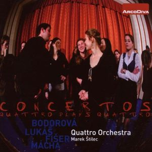 Concertos: Quattro Plays Quattro
