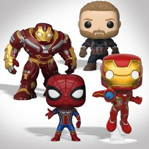 AVENGERS INFINITY WAR COLLECTIBLES SET 1