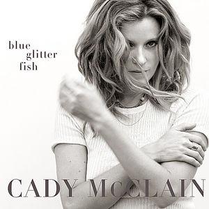 Blue Glitter Fish