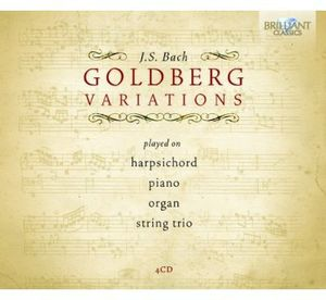 Goldberg Variations Played on Harpsichord Piano