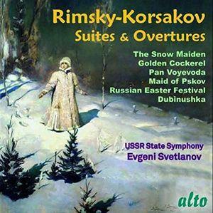 Rimsky-korsakov: Famous Suites And Overtures