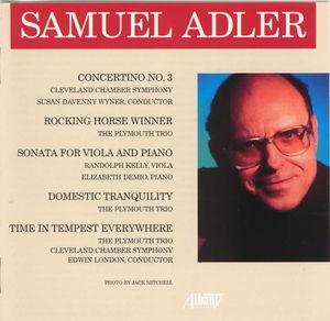 Music of Samuel Adler